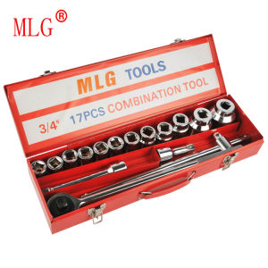 17PCS 3/4′′ Heavy Duty Combination Tool Set (MIG17)