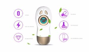 Home Use White Blue Light Heat Hair Removal pictures & photos