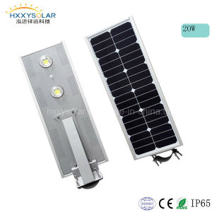 20W All in One Integrated Solar Power LED Street Light Price List with Motion Sensor pictures & photos