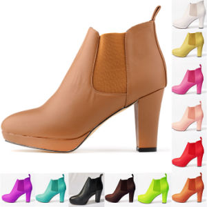 Womens Shoes Low Boots Ankle MID High Heels Platform