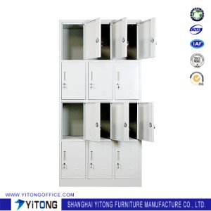 Yitong 12-Door Metal Storage Cabinet / Office Use Steel Locker pictures & photos