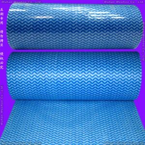 Anti-Bacterial Spunlace Nonwoven Rolled Cloth pictures & photos