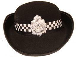 Lady′s Cap Police Cap Bowl Hat pictures & photos