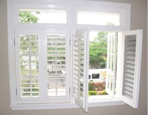 New Design Outward Casement Window ,Features Louver (WX-W201) pictures & photos