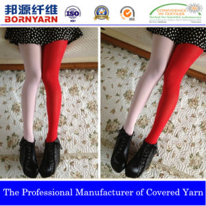 Covered Yarn with Spandex and Nylon for Stocking pictures & photos