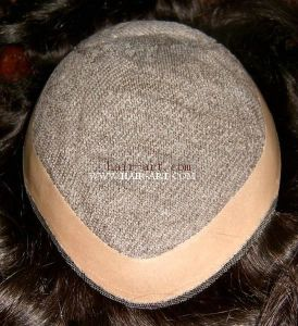 100% Human Hair / Lace & Injected Toupee with Double Layer pictures & photos