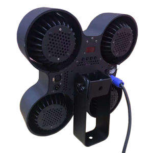 Pod Angle Adjustable 4 X 100W COB LED Pixel Mapping Blinder Strobe Stage Light pictures & photos