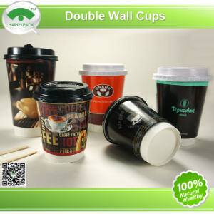 Happypack Double Wall Cup with PS Lid pictures & photos