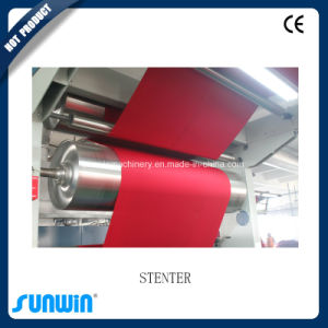Gas Heating Stenter Machine for Warp Knit Fabric pictures & photos