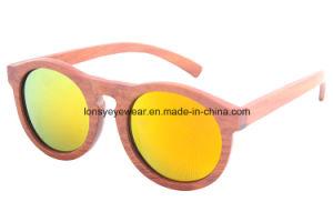 New Fashion Wooden Sunglasses with Polarized Lens UV400 Protection (LS3002-C2)