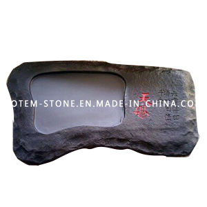 Chinese Granite Stone Carved Tea Tray for Sale pictures & photos