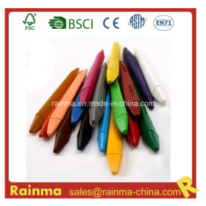 Triangel Plastic Crayon for Stationery Supply pictures & photos