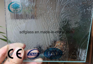 Clear Rococo Patterned Glass with Ce, ISO (3mm TO 8mm)