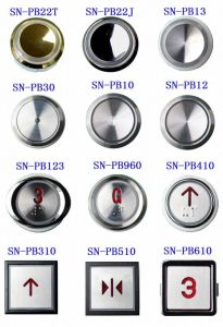 Elevator Push Button for FUJI (SN-PB000) pictures & photos