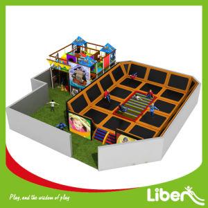 Liben Kids Factory Indoor Trampoline Elastica Bed with Indoor Playground pictures & photos