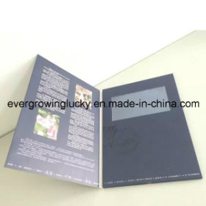 Recordable LCD Screen Video Greeting Postcard pictures & photos