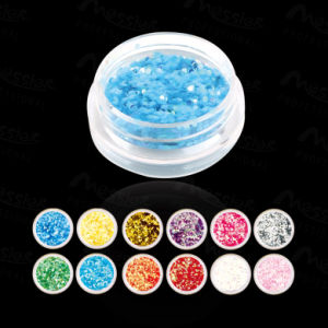 12 Color/Lot High Quality Nail Art Shiny Glitter Powder Dazzling Nail Art Kit Acrylic Dust Set pictures & photos
