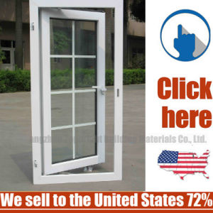 Topbright Vinyl UPVC Center-Hung Pivoted Pivot Window pictures & photos