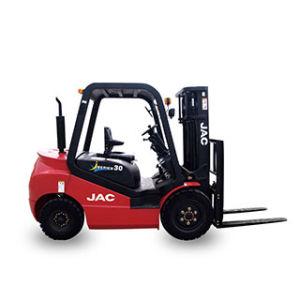 JAC Diesel Forklift Truck Cpcd30 3ton/China Best Forklift Truck with Isuzu Engine pictures & photos