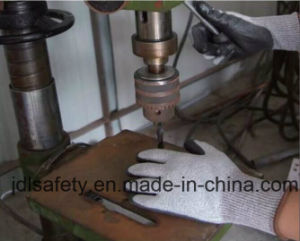 Sandy Nitrile Coated Glove for Winter (N1580) pictures & photos