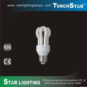 T2 Lotus Shape CFL 11W Energy Saving Lamp for Decoration