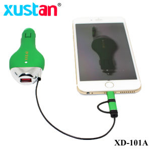 Hot Sale 2 in 1 Car Charger