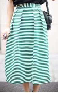 Wholesale Fasion Knitted Striped Women Skirts pictures & photos