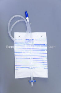 Urine Drainage Bag (With T-tap outlet, 2000ml) pictures & photos