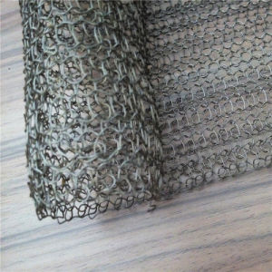 Stainless Steel Knitted Wire Mesh Bag for Ceramic Fiber Insulation of furnace pictures & photos