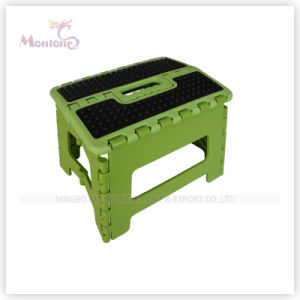 Sturdy Plastic Mixed Color Foldable Stool pictures & photos