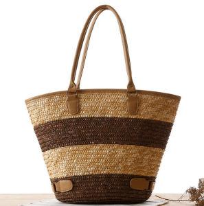 Big Capacity Beach Straw Bag Woven Casual Bag pictures & photos