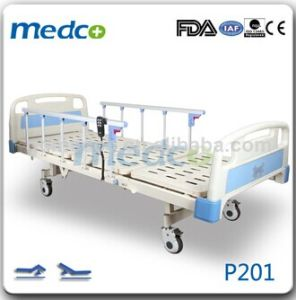 Two Function Electric Hospital Bed for Sale P201 pictures & photos