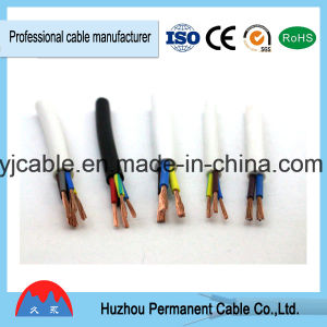 Manufacturer 300/500V Copper Conductor PVC Insulation Flexible Cable pictures & photos