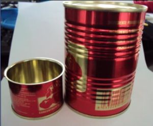 2015 Crop Organic Double Concentrated 850g Canned Tomato Paste China Origin