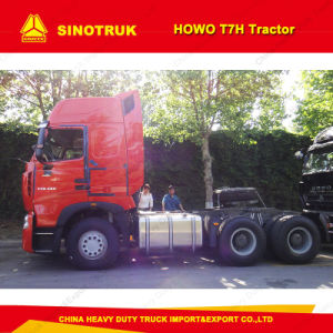 Sinotruk HOWO T7h 6X4 290-540HP Tractor Truck for Sale pictures & photos