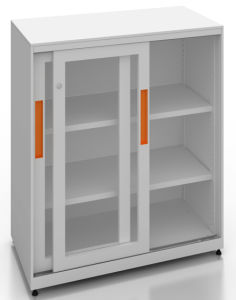 Square Series Glazed Sliding Door Cabinet (SQ-SLG) pictures & photos