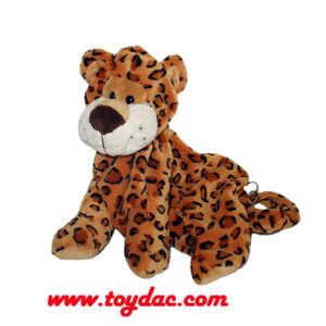 Plush Leopard Infant Backpack pictures & photos
