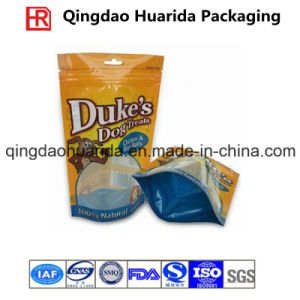 Al Foil Standing Zipper Bag for Pet Food Plastic Packaging pictures & photos