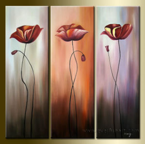 Handmade Modern Flower Oil Painting on Canvas pictures & photos