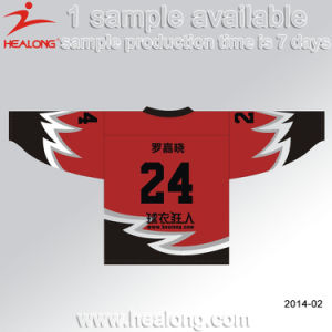 Healong Promotion Full Sublimated Practice Ice Hockey Jerseys pictures & photos