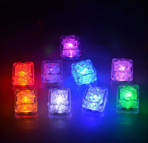 Beautiful Water Submersible Decorative Glowing Ice Cubes