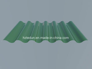 Metal Corrugated Panel for Facades (Emerald green6001) pictures & photos