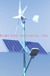 30W LED Wind-Solar Hybrid Street Lights, 6metres Pole pictures & photos