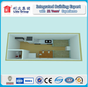 Can Be Fixed and Combined Freely Modular Prefab Container House pictures & photos