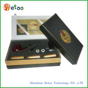 Dse601 E Cigarette with Wood E-Pipe