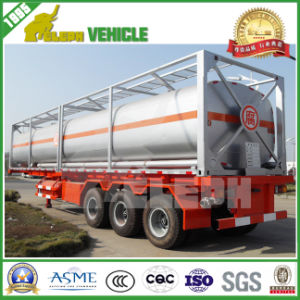 20FT 40FT Carbon Steel ISO Storage Oil Fuel Tank Container pictures & photos
