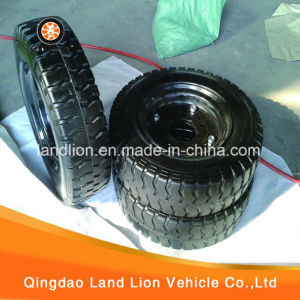 Manufacture Kinds Model of Rubber PU Wheel 4.50-12, 4.00-12, 4.00-8, 3.50-10, 3.50-8 pictures & photos