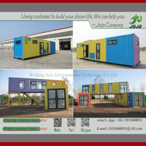Container Guest Houses Perfab Houses Shipping Container Coffee Kiosk pictures & photos