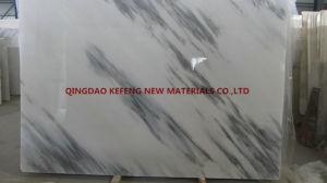 White Marble Slab Cut to Tiles Stair Steps Flooring Tiles