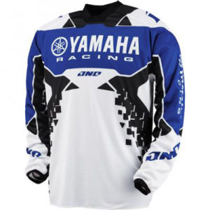 Blue Custom Professional Racing Shirts Polyester Motorcycle Jerseys (MAT29) pictures & photos